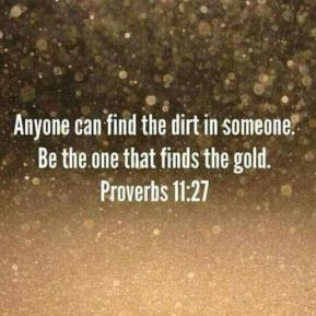 dirt and gold