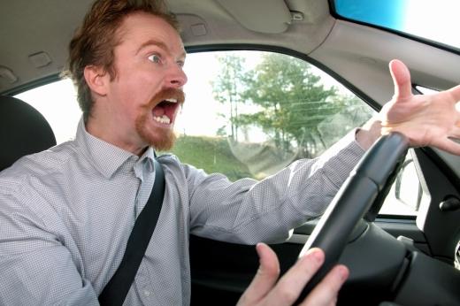 impatient driver
